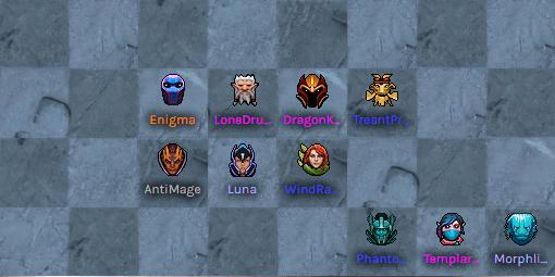 Dota auto chess тактика: друиды + эльфы