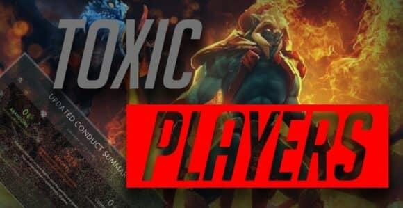 Токсичные игроки и флейм в Доте 2