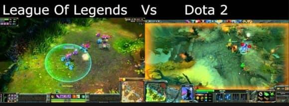 LEAGUE OF LEGENDS VS DOTA 2
